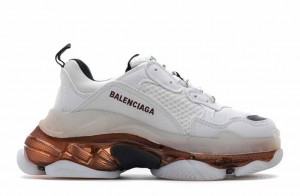 """Clear Sole """"White Rose Gold"""""""
