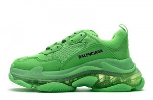 """Clear Sole """"Fluo Green"""""""