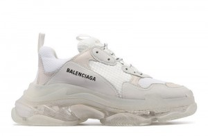 """Clear Sole """"White"""""""