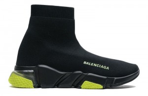 """Clear Sole """"Black/Yellow Fluo"""""""