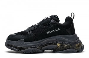 """Clear Sole """"Black"""""""