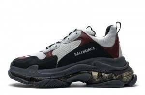 """Clear Sole """"Black Brown Red"""""""