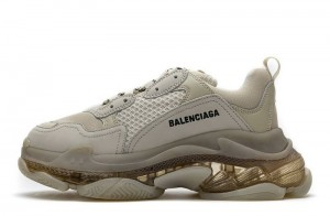 """Clear Sole """"Champagne"""""""