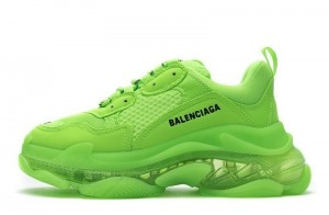 """Clear Sole """"Fluorescent Green"""""""